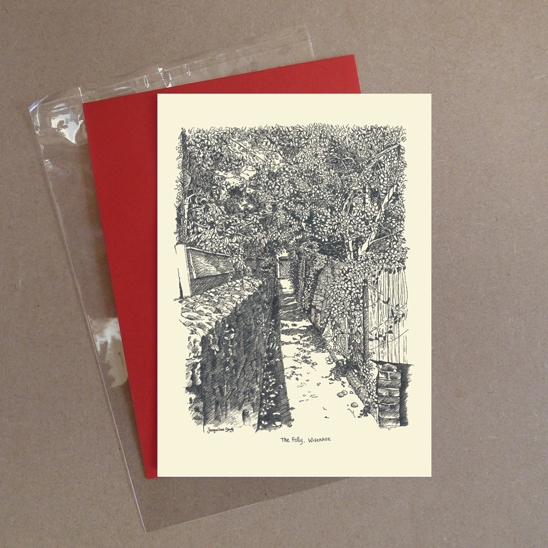 The Folley Greeting Card