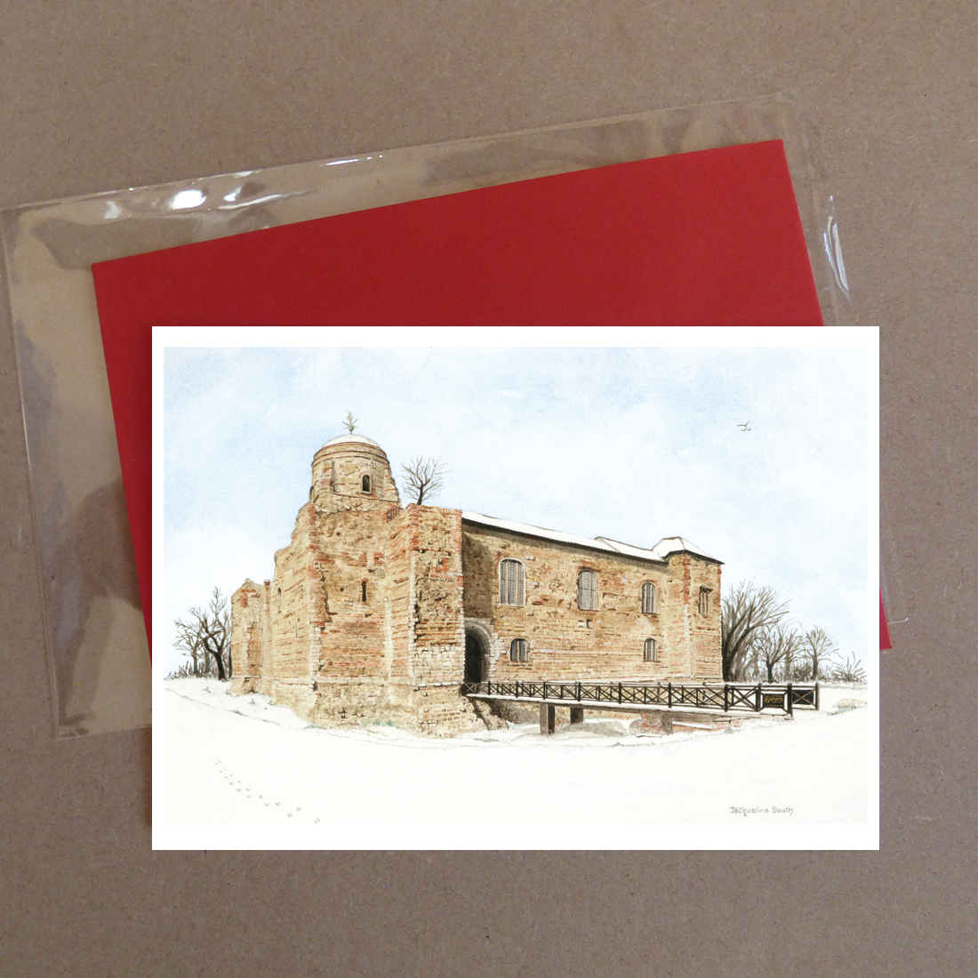 Colchester Castle Greeting Card