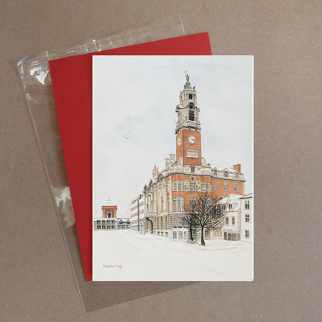 The Town Hall, Colchester Greeting Card