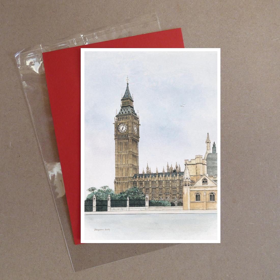Big Ben, London Greeting Card