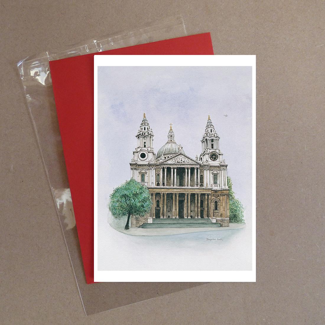 St. Pauls Cathedral, London Greeting Card
