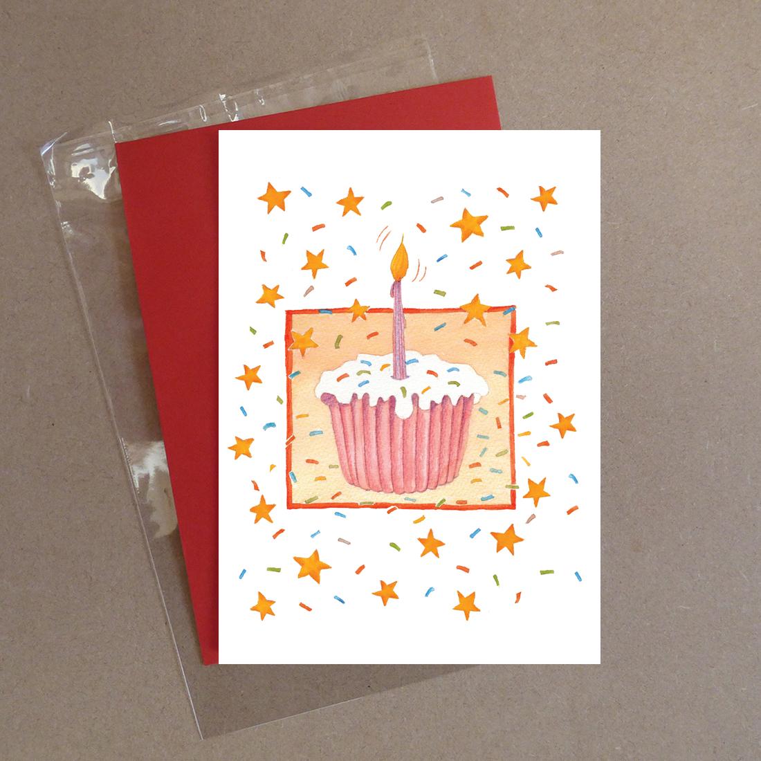 Cupcake Greeting Card
