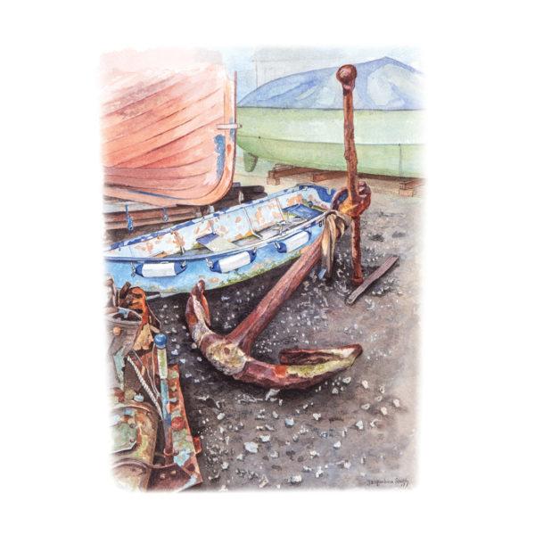 Large Anchor, Mersea Island