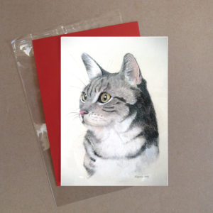 Cat Greeting Card 4