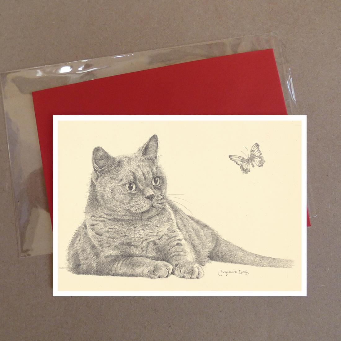 Cat Greeting Card 8
