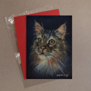 Cat Greeting Card 10
