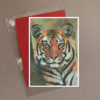 Tiger Greeting Card 2