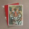 Tiger Greeting Card 2