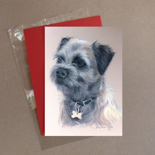Border Terrier Greeting Card