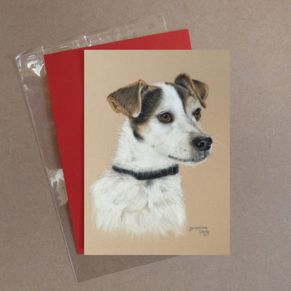 Jack Russell Greeting Card 1