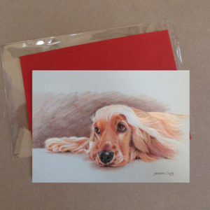 Spaniel Greeting Card 1