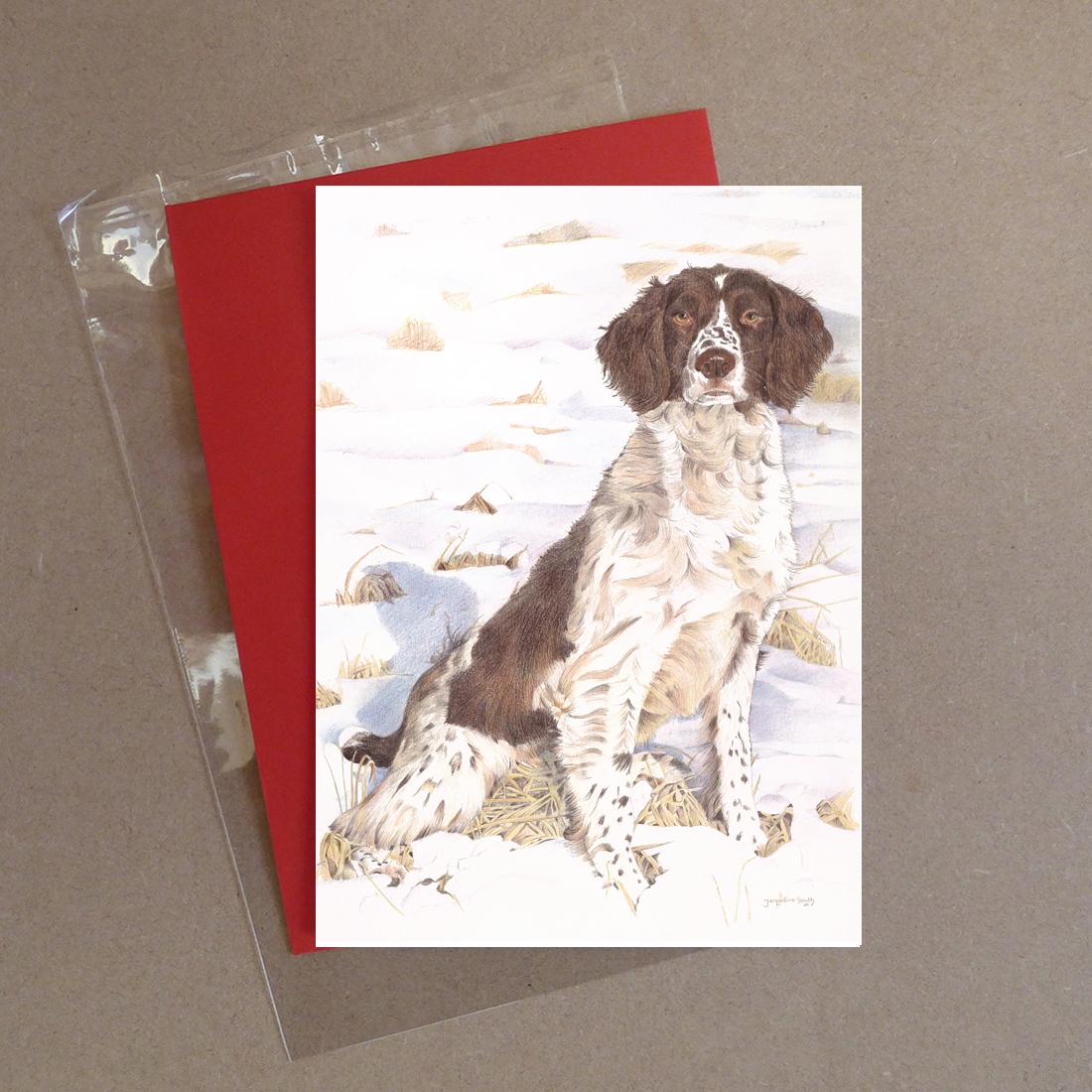 Spaniel Greeting Card 2