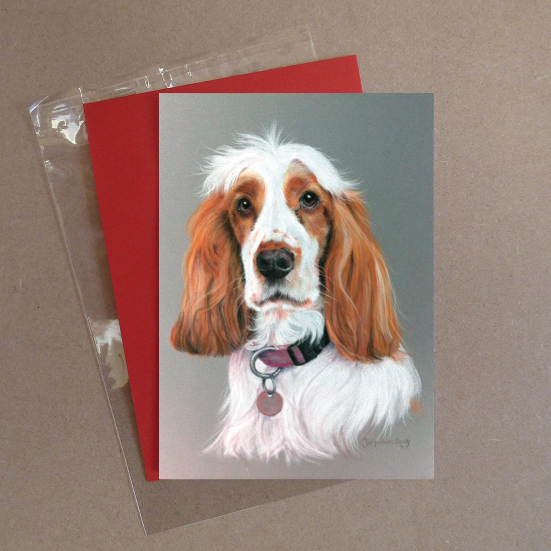 Spaniel Greeting Card 4