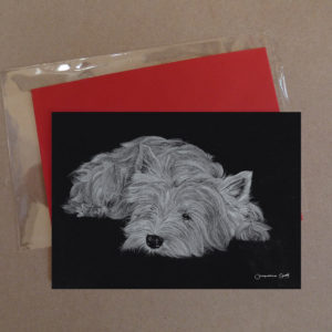 West Highland Terrier Greeting Card