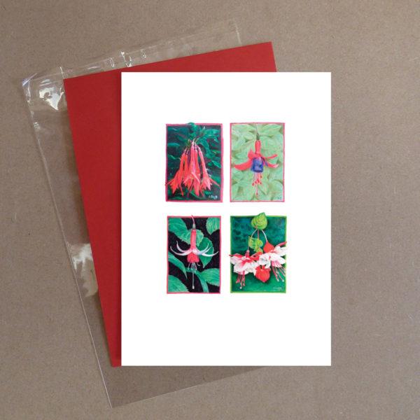 Fuchsia Greeting Card 4