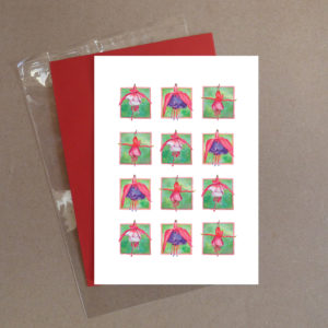 Fuchsia Greeting Card 12