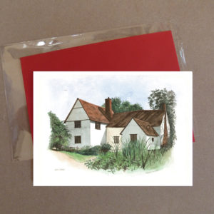 Willy Lott's House, Flatford Greeting Card