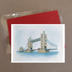 Tower Bridge, London Greeting Card