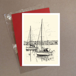 Boats Greeting Card