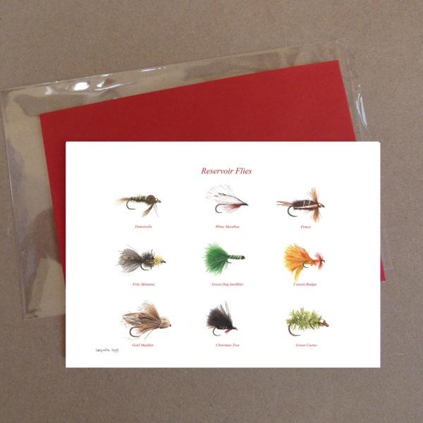 Reservoir Flies Greeting Card